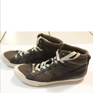 GUESS Men's Cristian Hi Top Sneakers Size 10.5